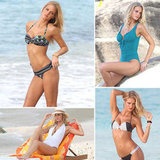 Bikini-Clad Erin Heatherton Works Her Sexiest Poses For VS