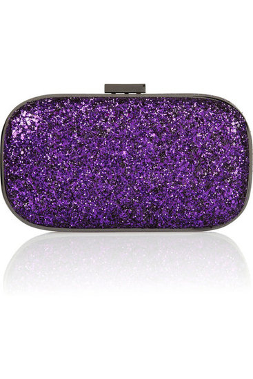 This Anya Hindmarch Marano dancer LED-lit glitter-finished clutch ($239, originally $795) isn't just any clutch, it also glows in the dark!