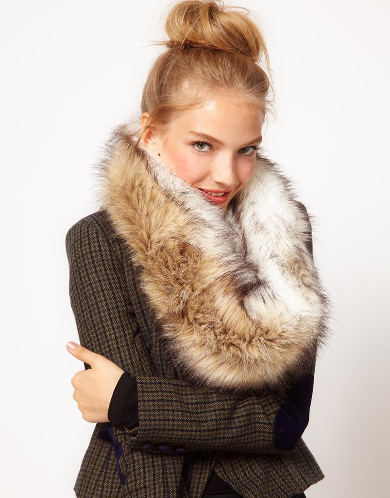 This ASOS Faux Fur Snood ($31) is the kind of plush finishing touch that gives any girl that posh flair, even in Winter.