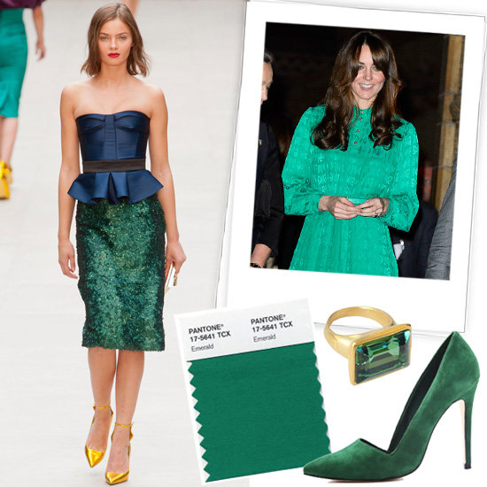 Emerald Is Pantone's Color of 2013 — It's That Much Easier Being Green