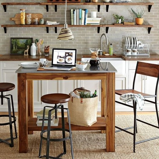 Portable kitchen islands popsugar home - Mobile kitchen island plans ...