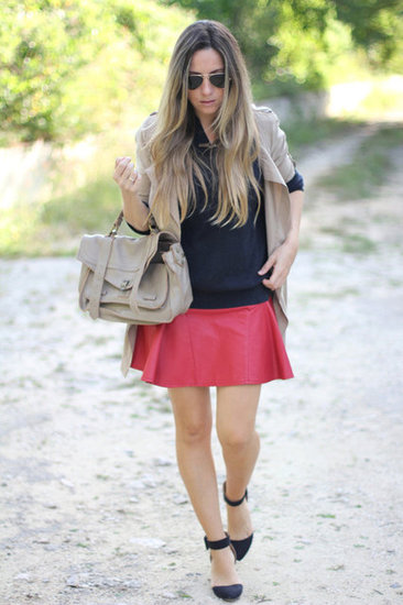 Skater skirt for a casual chic look