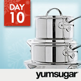 18 Days of Holiday Giveaways, Day 10: YumSugar — Win $800 Cookware Sets!