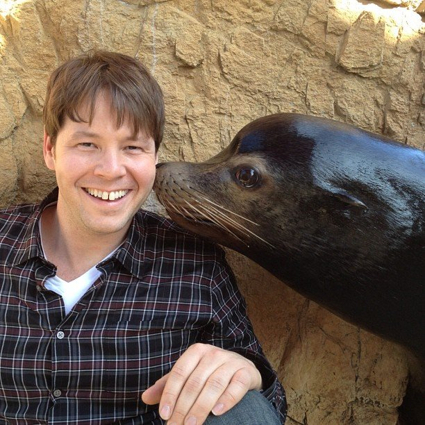 Ike Barinholtz got to know The Mindy Project's upcoming guest star. Source: Instagram user mindykaling