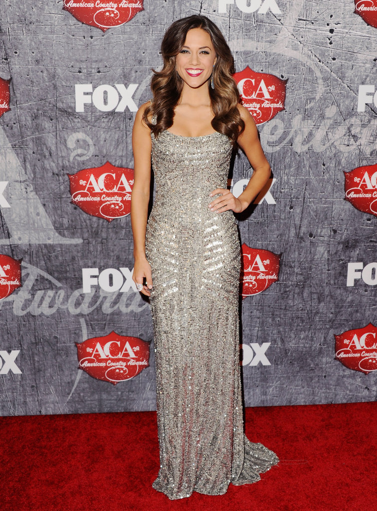 Jana Kramer posed on the red carpet.