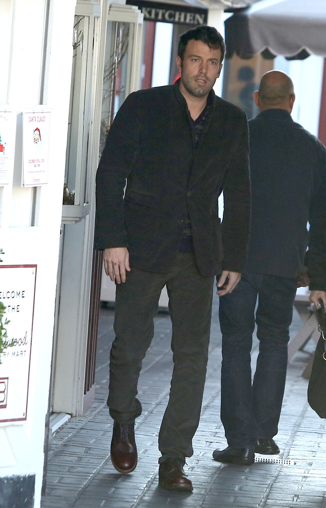 Ben Affleck made his usual breakfast stop in LA.