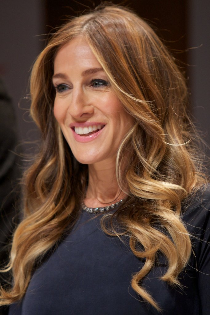 Sarah Jessica Parker smiled in Oslo.