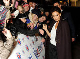 Victoria Beckham and Her Boys Show Their Spice Girls Support