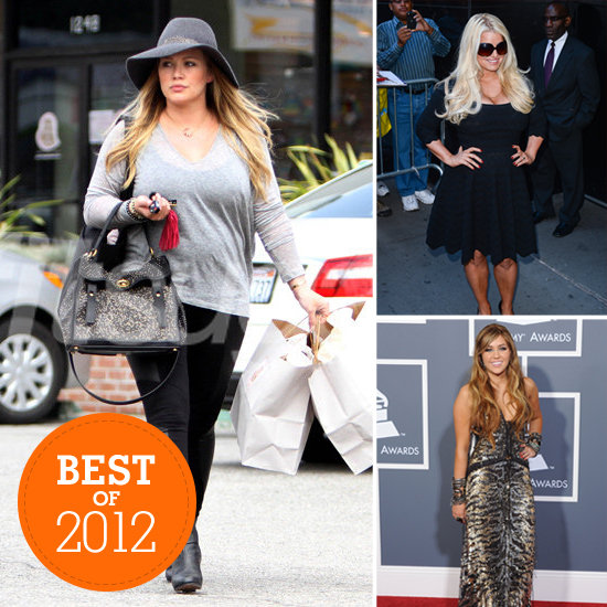 Before and After: The Biggest Celebrity Weight-Loss Stories of 2012