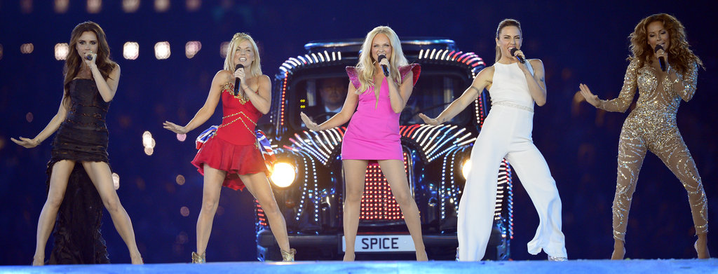 Spice Girls Perform at Olympics