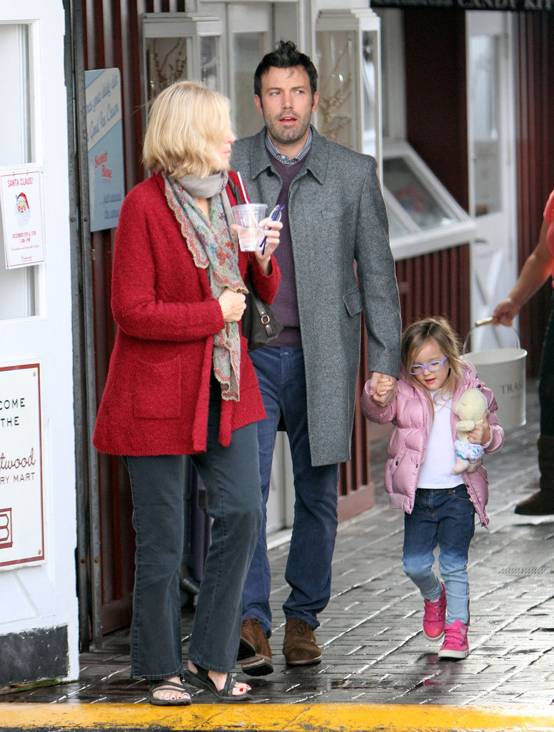 Ben Affleck and his mom went to grab breakfast with Seraphina.