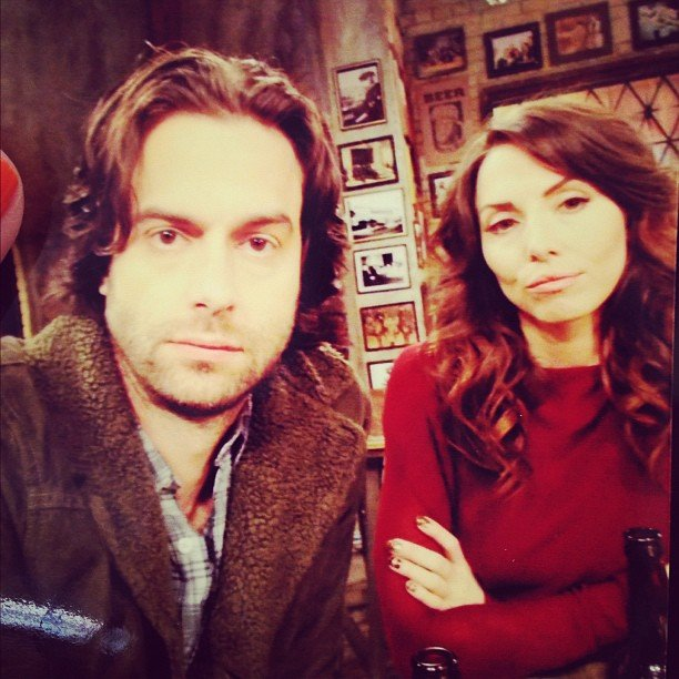 "Chris D'Elia and Whitney Cummings declared themselves ""The Real Housewives of Walking Dead."" Source: Instagram user therealwhitney"