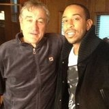 Robert De Niro posed with Ludacris. Source: Instagram user itsludacris