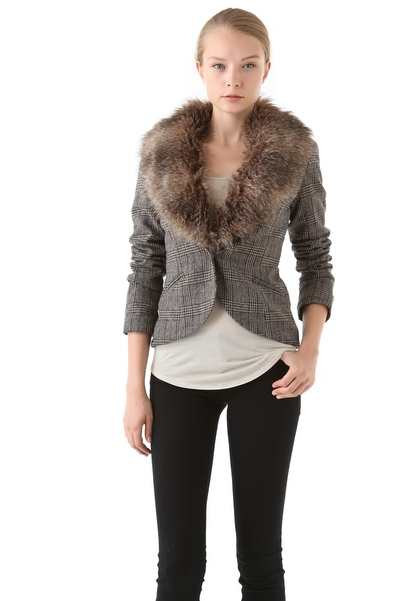 What wouldn't look great with this Ella Moss Grayson Blazer ($174, originally $248?!  The options are endless.