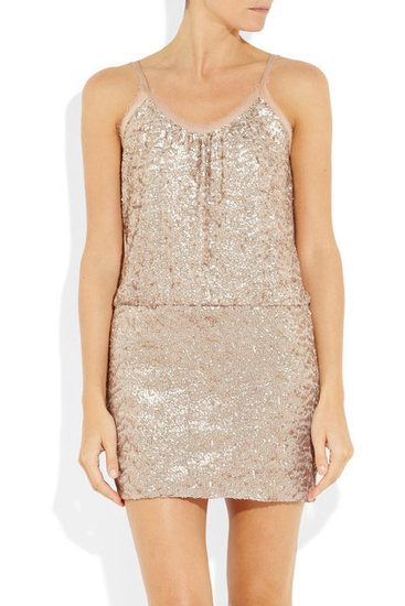 This glitzy little Rebecca Taylor Dress ($277, originally $395) would be a perfect option for any NYE fete.