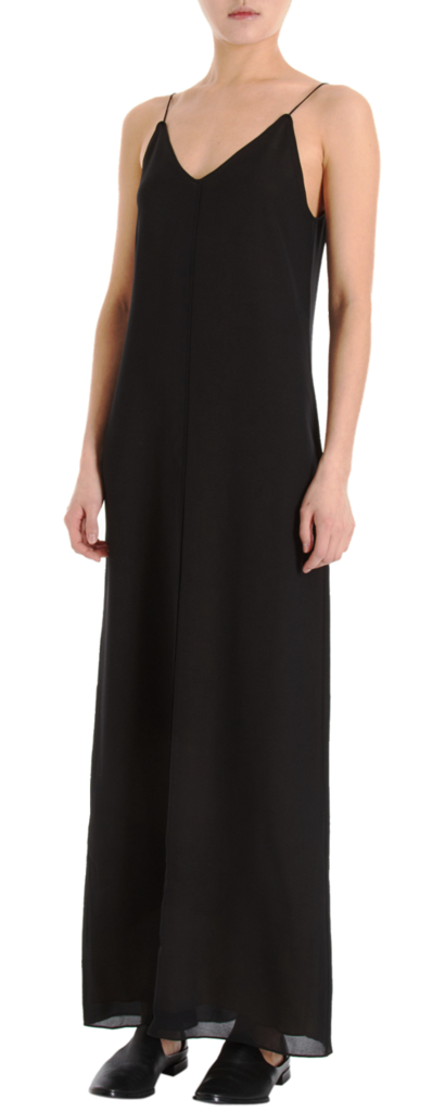 If you don't want to commit to the sequins and sparkles, commit to this T By Alexander Wang Long Slipdress ($209, originally $345) — it's a piece you can wear again and again and reinvent with accessories and layers every time you do.