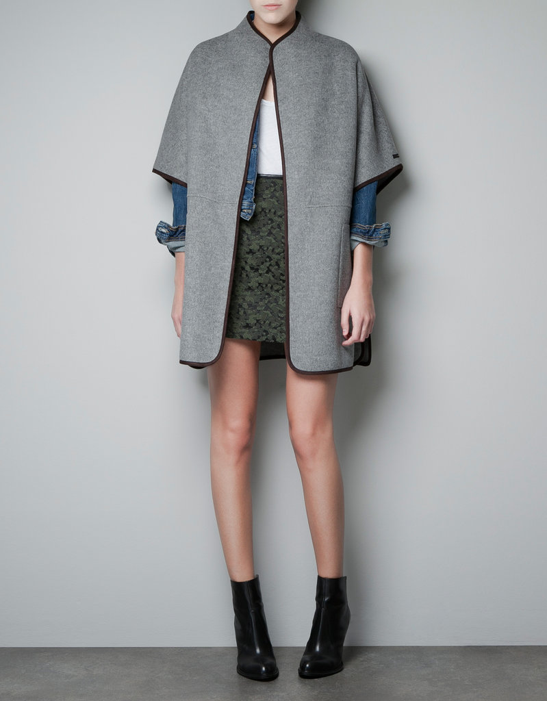 I'll think of this Zara Hand Made Cape ($189) as my Miranda Kerr coat, and I'll be just one small step closer to emulating her effortless style. — Hannah Weil, associate editor