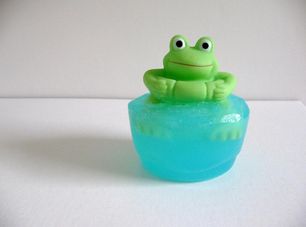 Briggy's Bath and Body Frog Soap ($7)