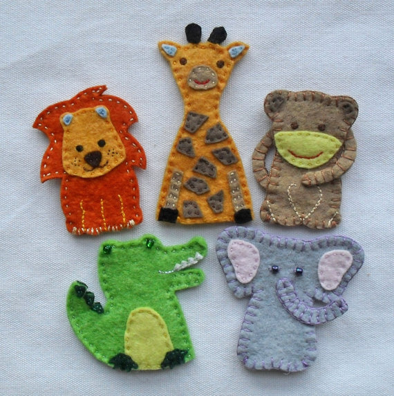 Felton Finger African Finger Puppets ($25 for a set of five)