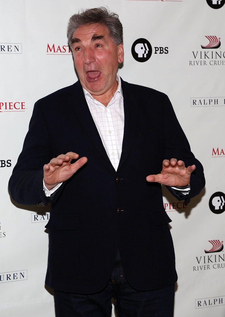 Jim Carter enjoyed himself.