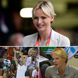 Monaco's Princess Charlene took in the Olympics.