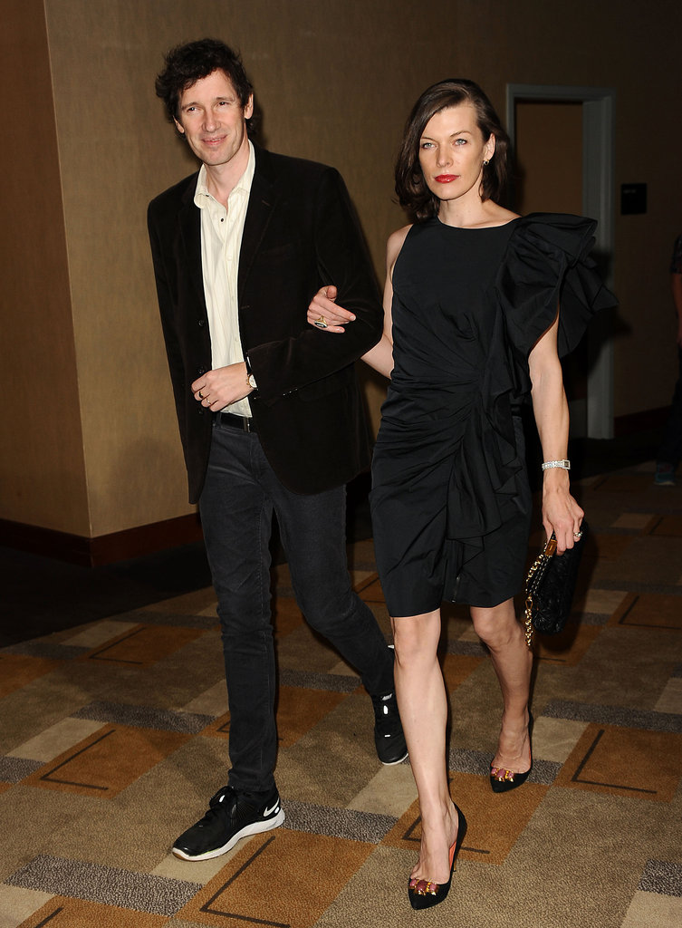 Milla Jovovich and Paul W. S. Anderson