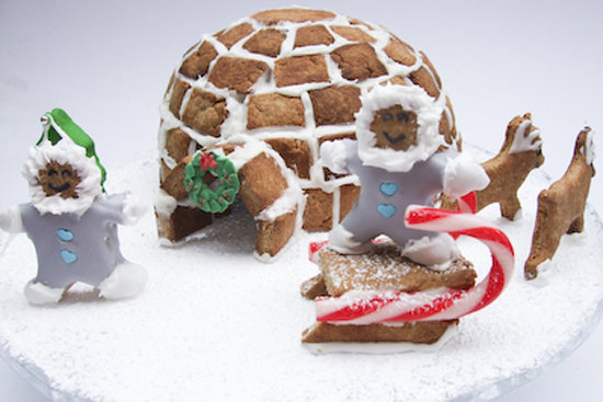 Gingerbread Igloo