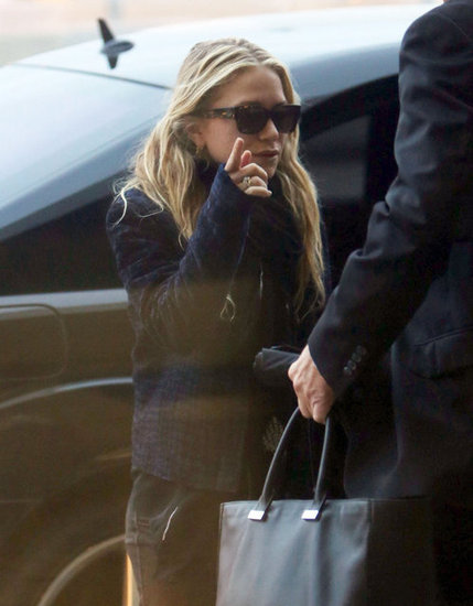 Mary-Kate Olsen was at the airport in LA.
