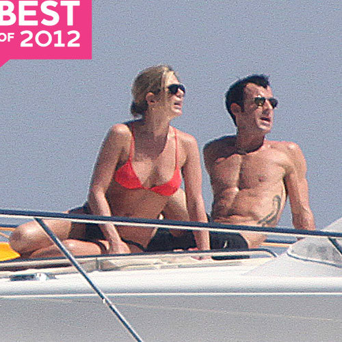 Jennifer Aniston and Justin Theroux's Best Moments of 2012