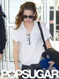Kristen Stewart was in NYC promoting On the Road.