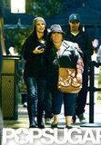 Sandra Bullock had her arm around Melissa McCarthy for a trip to Disneyland.