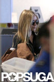 Ashley Olsen was out at the airport in LA.