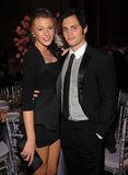 Penn Badgley escorted Blake Lively to the October 2009 Angel Ball held at Cipriani in NYC.