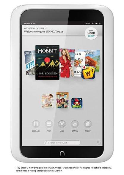 Nook Tablet HD