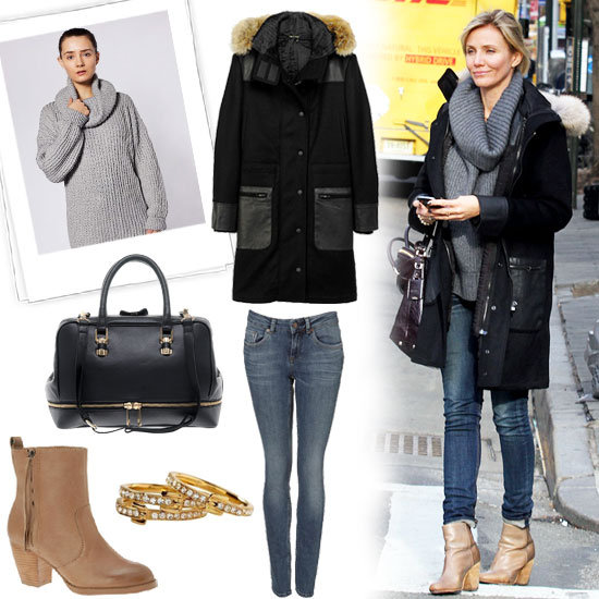 Cameron Diaz Wears Winter Outfit in NYC (Pictures)