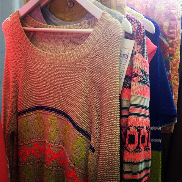 This neon-embellished Cotton On jumper is so perfect for Autumn, we almost wish it was getting colder already. . .