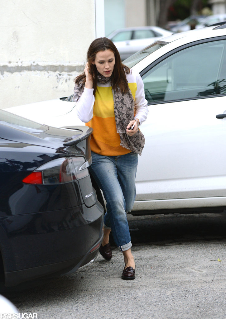 Jennifer Garner picked Seraphina Affleck up.