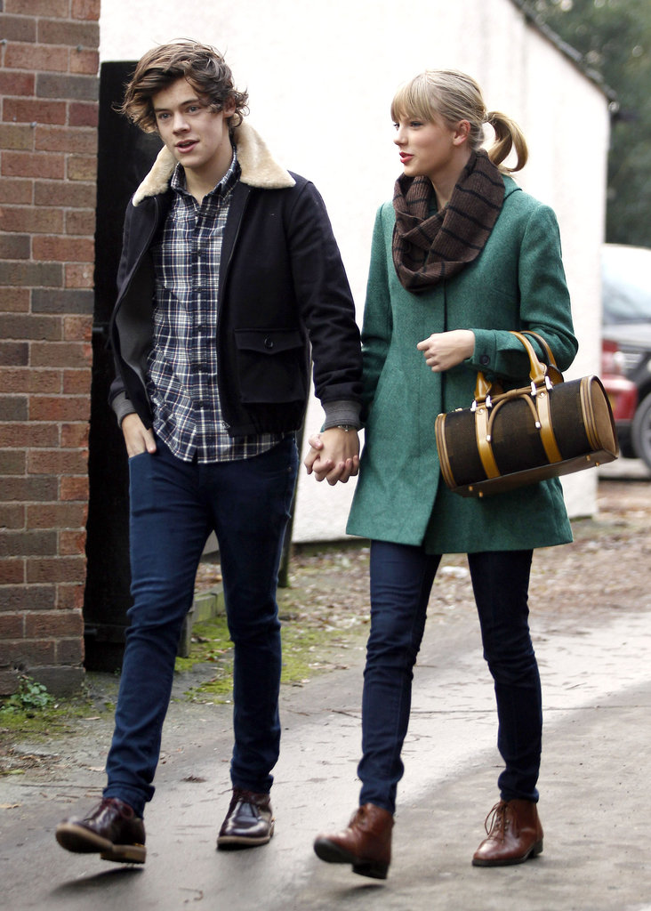 Taylor Swift and Harry Styles went to lunch.