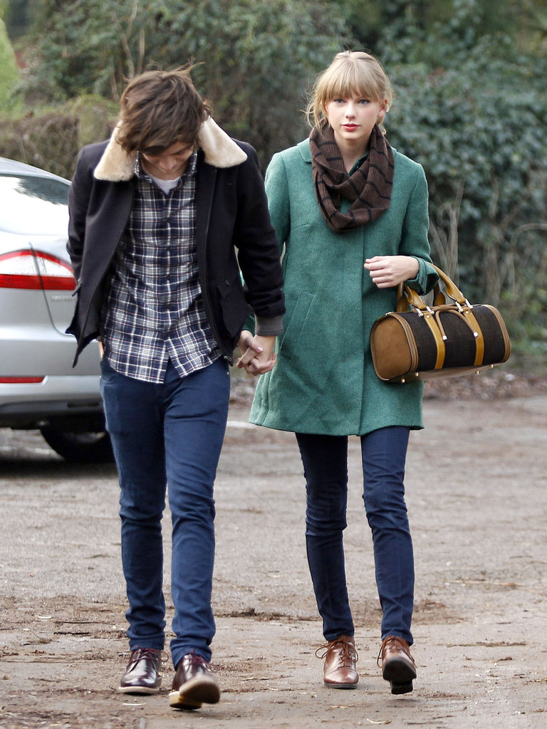 Taylor Swift and Harry Styles went out for a meal.