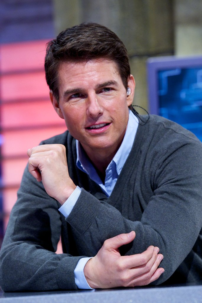Tom Cruise was on Spanish TV.