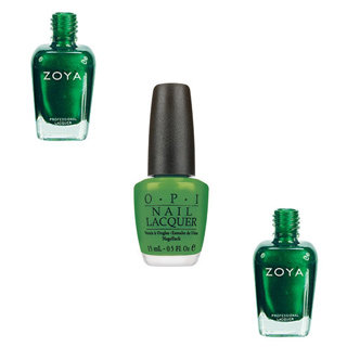 Pantone Colour Of The Year: Emerald Green Nail Polish