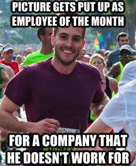 April: Ridiculously Photogenic Guy