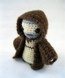 Obi-Wan Kenobi ($4) keeps a low profile in his hooded robe.