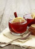 Spiced Pomegranate Apple Cider