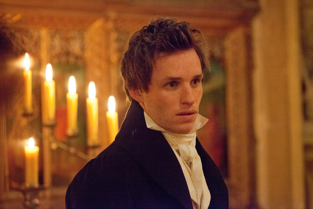 Eddie Redmayne in Les Misérables.