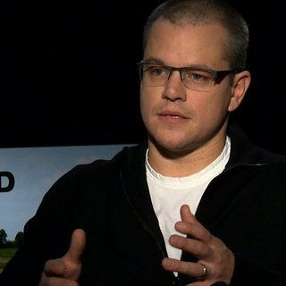 Matt Damon Interview For Promised Land