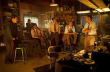 Ryan Gosling, Michael Peña, Robert Patrick, Josh Brolin, Anthony Mackie, and Giovanni Ribisi in Gangster Squad.