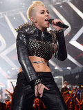 Miley Cyrus performed on VH1 Divas last night.