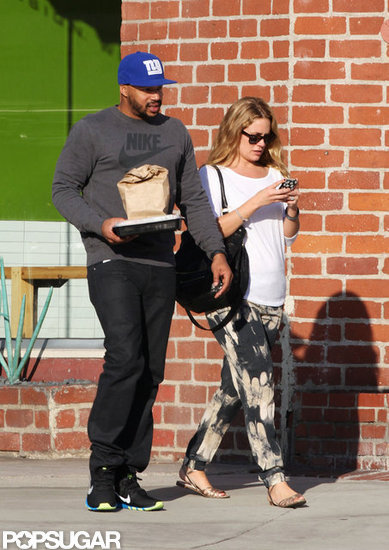 CaCee Cobb and Donald Faison Step Out With a Newlywed Glow