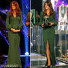 Kate Middleton Green Alexander McQueen Dress